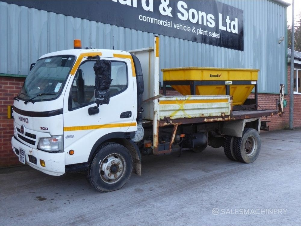 Hino 815 Year 2009 Price 5 293 Eur Used Tipper Trucks For Sale 4888