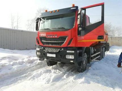 IVECO Trakker Russian Federation