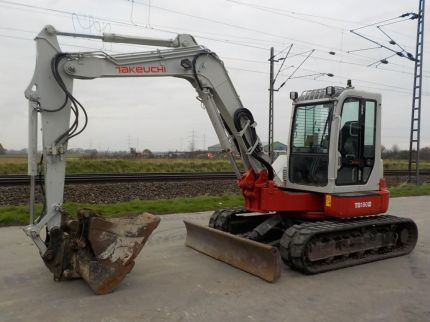 TAKEUCHI TB180FR United Kingdom